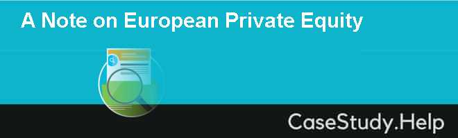 A Note on European Private Equity