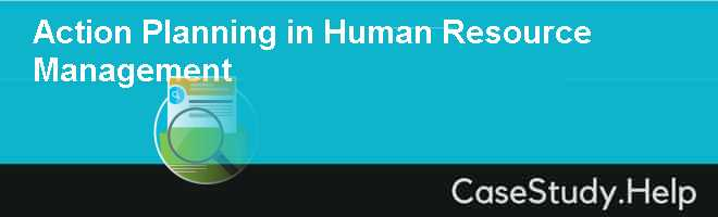 Action Planning in Human Resource Management