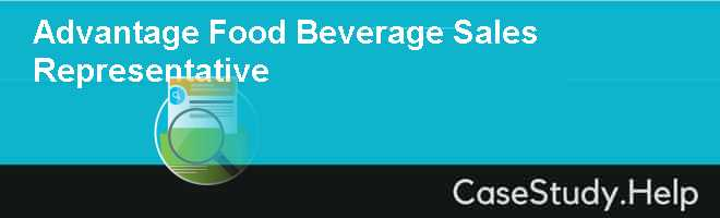 advantage food beverage sales represe Driving food & beverage sales with measurable increases can be achieved with these simple and affordable so why don't restaurateurs do more to take advantage of.