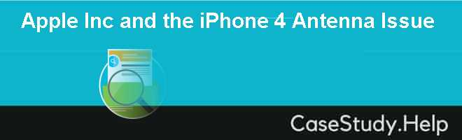 Apple Inc and the iPhone 4 Antenna Issue