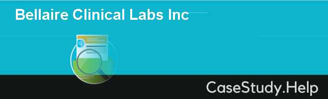 Bellaire Clinical Labs Inc