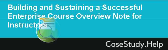 analysis of success enterprises case