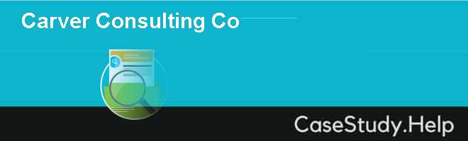 Carver Consulting Co