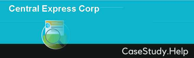 Central Express Corp