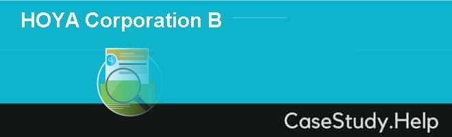 HOYA Corporation B