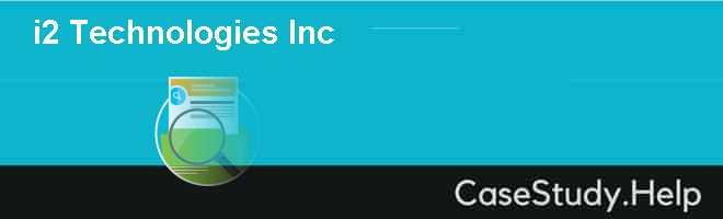 i2 Technologies Inc