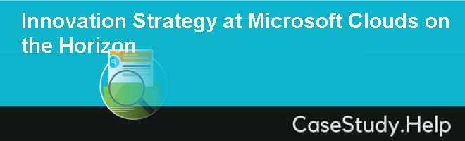 microsoft innovation strategy