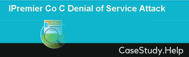 IPremier Co C Denial of Service Attack