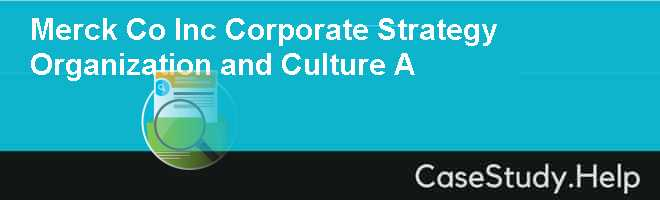organizational culture case study with solution pdf