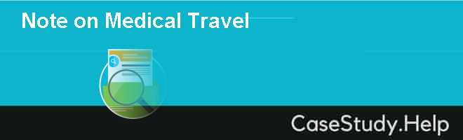 Note on Medical Travel