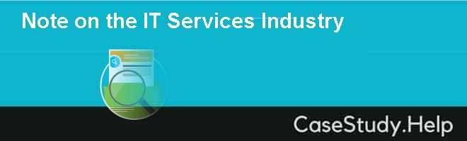 Note on the IT Services Industry