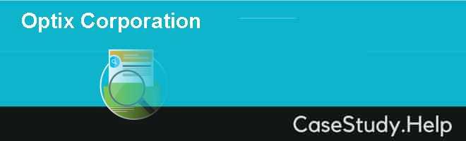 Optix Corporation