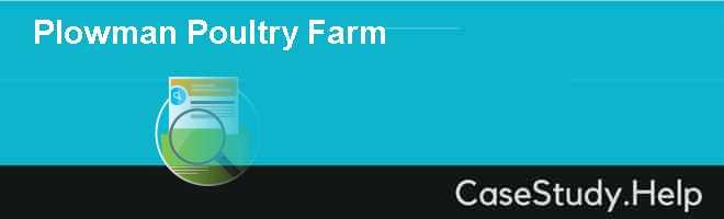 Plowman Poultry Farm
