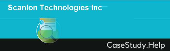 Scanlon Technologies Inc