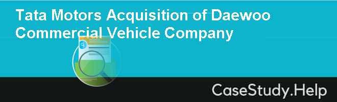 Daewoo Group Case Solution & Case Analysis ... - Case study