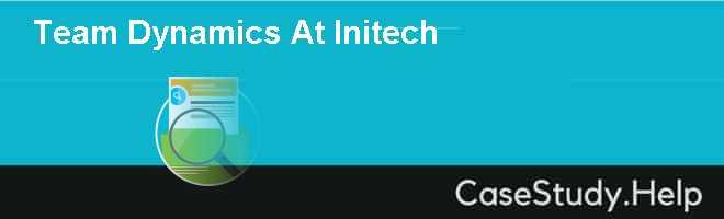 Team Dynamics At Initech