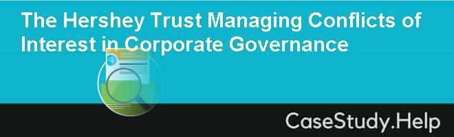 hershey corporate governance