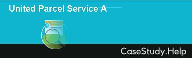 United Parcel Service A